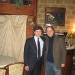 Io e il Sinaco di Roma Gianni Alemanno a Conversan